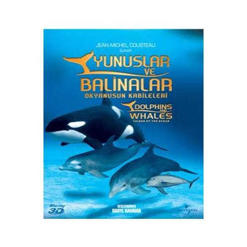 Dolphins and Whales 3D (Yunuslar ve Balinalar 3D) (Blu-Ray Disc)