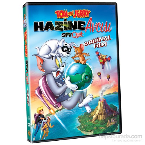 Tom And Jerry: Spyquest (Tom Ve Jerry: Ajan Avı) (DVD)
