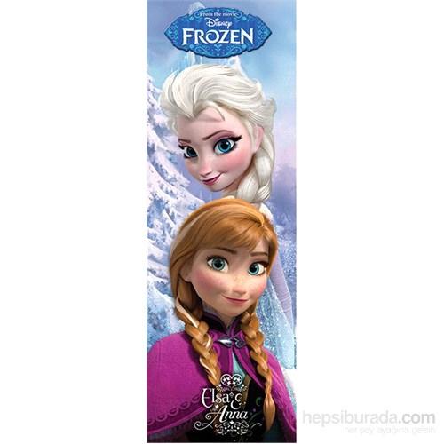 Frozen Anna & Elsa Door Poster