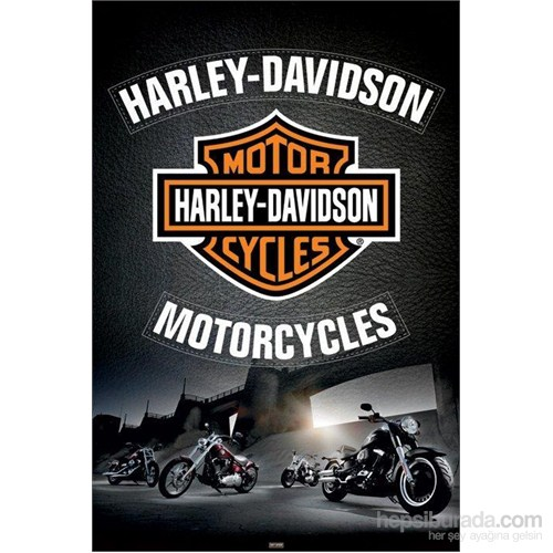 Maxi Poster Harley-Davidson LeaTher