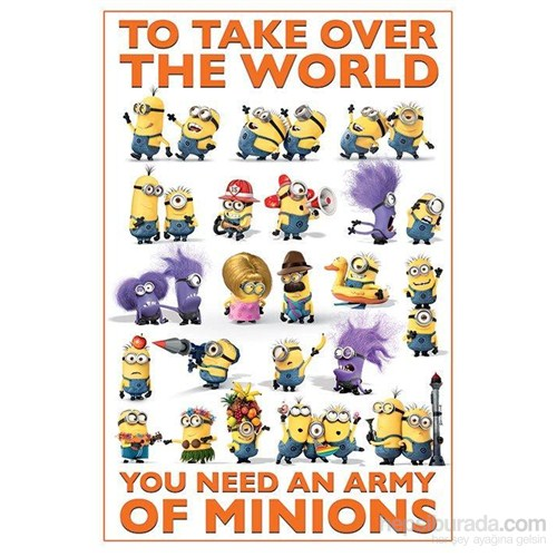 Maxi Poster Despicable Me 2 Take Over The World