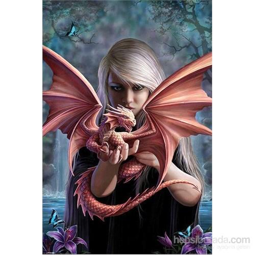 Dragon Girl Maxi Poster