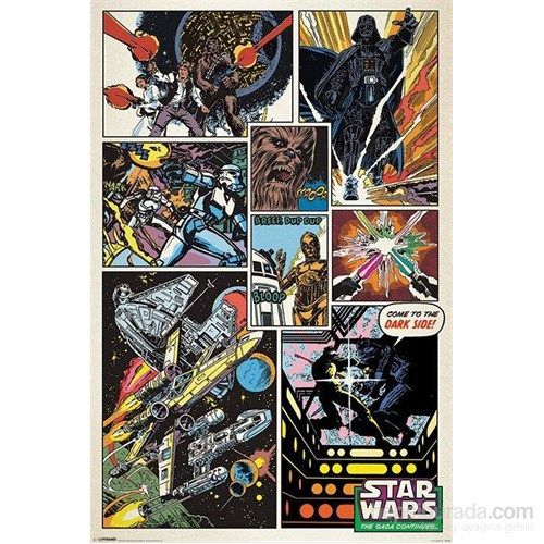 Star Wars Comics Maxi Poster