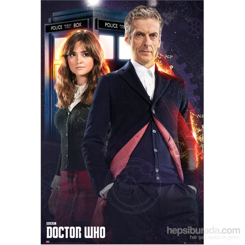 Doctor Who New Doctor & Clara Maxi Poster