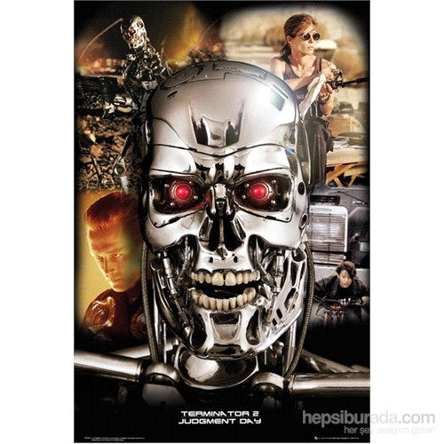 Terminator Collage Maxi Poster