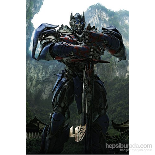 Transformers 4 Optimius Teaser Maxi Poster