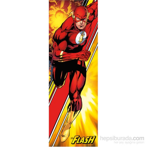 Dc Comics Flash Door Poster