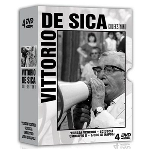 Vittorio De Sica Koleksiyonu (4 Disc)
