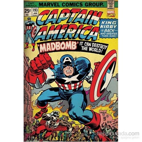 Maxi Poster Marvel Retro Captain America-Madbomb