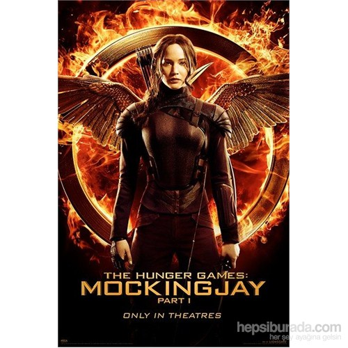 Maxi Poster Hunger Games (Mockingjay Part 1 Katniss)