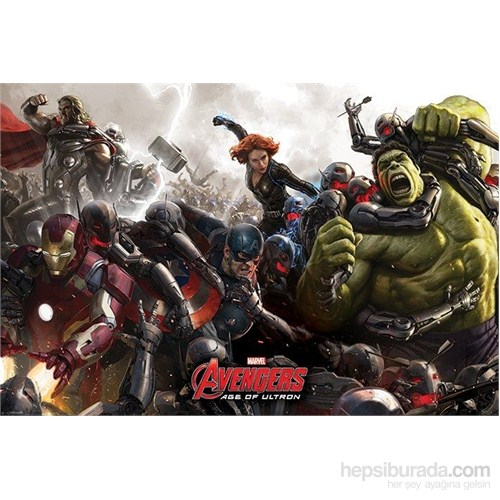 Maxi Poster Avengers Age Of Ultron Battle