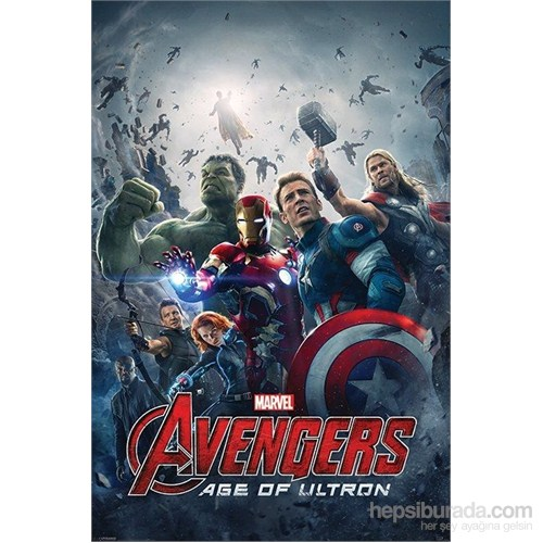 Maxi Poster Avengers Age Of Ultron One Sheet