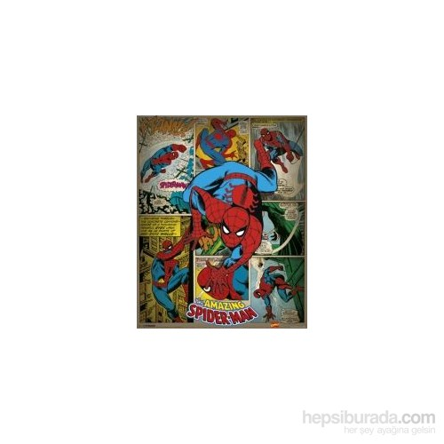 Mini Poster Marvel Comics Spiderman Retro