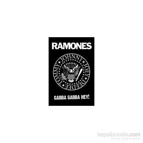 Maxi Poster The Ramones B&W Logo