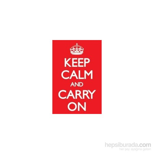 Maxi Poster Keep Calm And Carry On Red