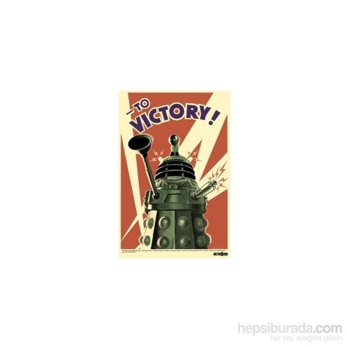 Maxi Poster Doctor Who To Victory