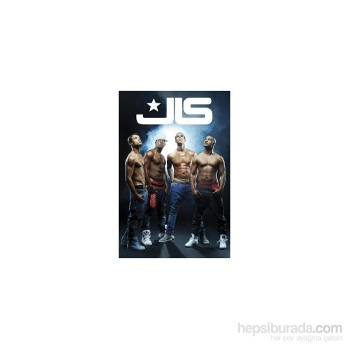Maxi Poster JLS Shirtless