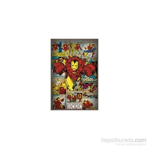 Maxi Poster Iron Man Retro