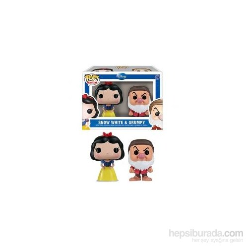 Funko Snow White & Grumpy 2-Pack Mini POP Disney
