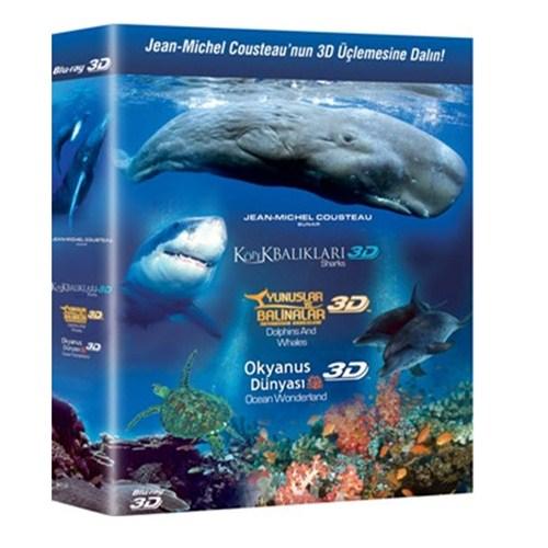 3D Belgesel Blu-Ray Box Set (3 Disc)