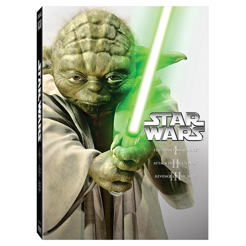 Star Wars Ep I-III Box Set (3 Disc DVD)