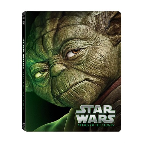 Star Wars Ep. II Attack Of The Clones Limited Edition Steel Book ( Blu-Ray Disc)