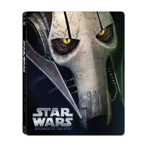 Star Wars Ep. III Revenge Of The Sith Limited Edition Steel Book ( Blu- Ray Disc)