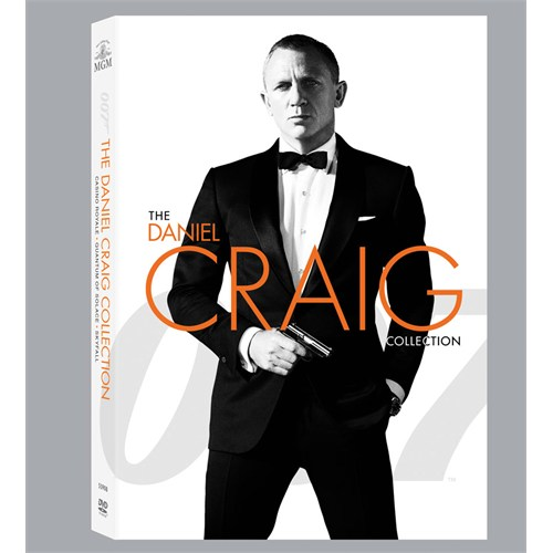 007 James Bond -Daniel Craig Box Set -DVD - 3 Disk
