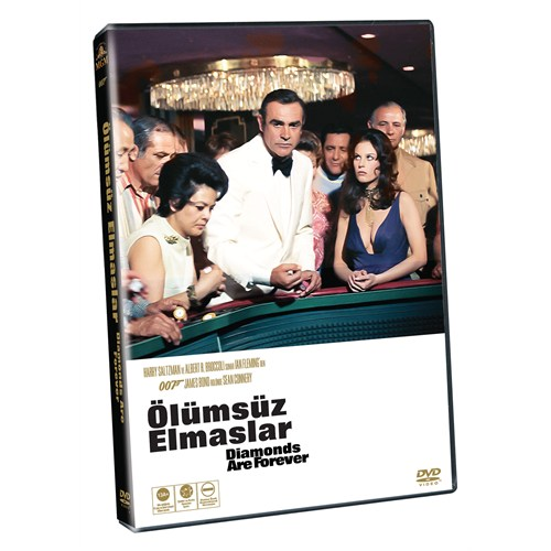 Diamonds Are Forever (Ölümsüz Elmaslar) (James Bond) ( DVD )