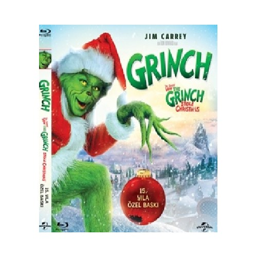 How the Grinch Stole Christmas (Grinch) (Blu-Ray Disc)