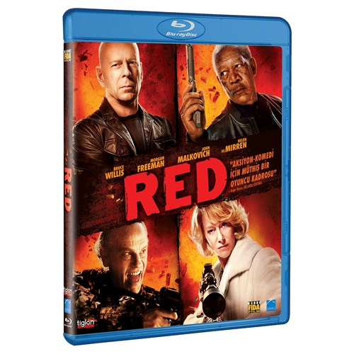 Red (Blu-Ray Disc)
