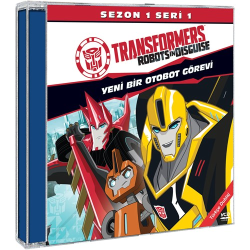 Transformers Robots In Disguise Sezon 1 Seri 1 (VCD) (2 Disc)