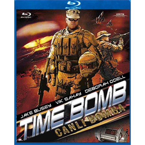 Time Bomb (Canlı Bomba) (Blu-Ray Disc)