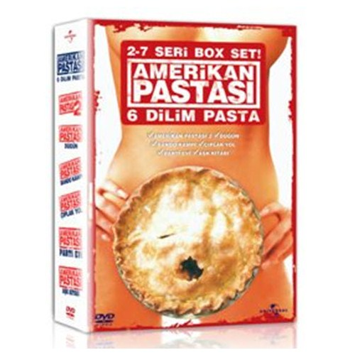 Amerikan Pastası 2-7 Box Set (6 DVD)