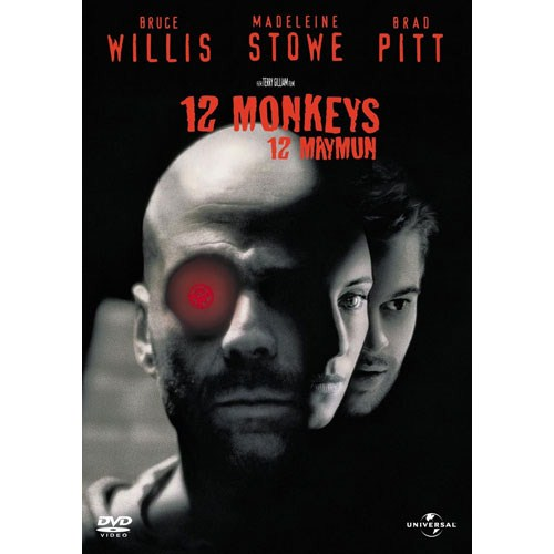 12 Monkeys (12 Maymun) (DVD)