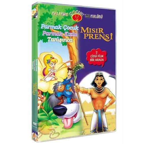 Parmak Çocuk Parmak Kızla Tanışınca - Mısır Prensi (2 Film Bir Arada) ( DVD )