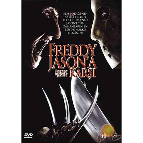 Freddy Vs Jason (Freddy Jason'a Karşı) (DTS) ( DVD )