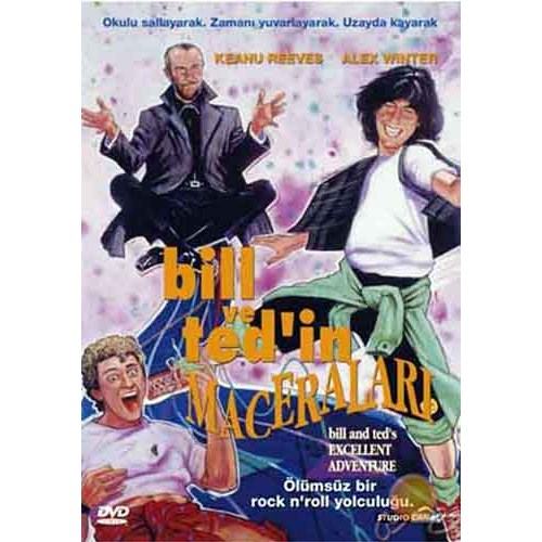 Bıll And Ted's Excellent Adventure (Bıll ve Ted'in Maceraları) ( DVD )