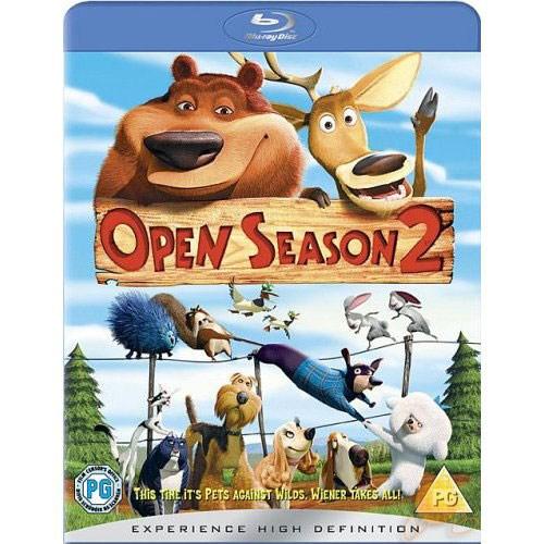 Open Season 2 (çılgın Dostlar 2) (Blu-Ray Disc)