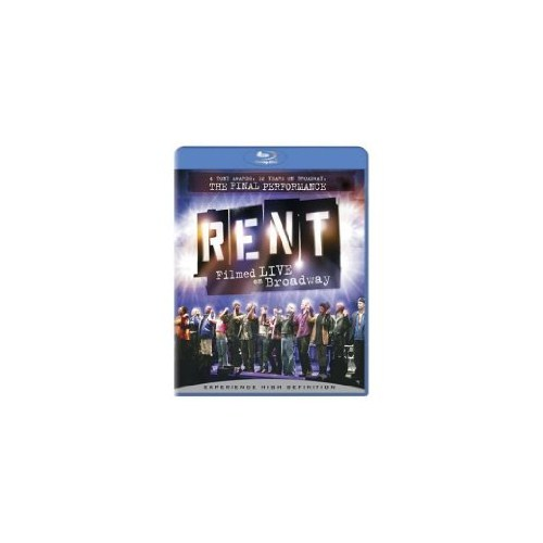Rent: Filmed Live On Broadway (Blu-Ray Disc)
