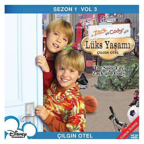 Zack ve Cody'nin Lüks Yaşamı Sezon 1 Vol 3: Çılgın Otel (Suite Life Of Zack And Cody Season 1 Vol 3)