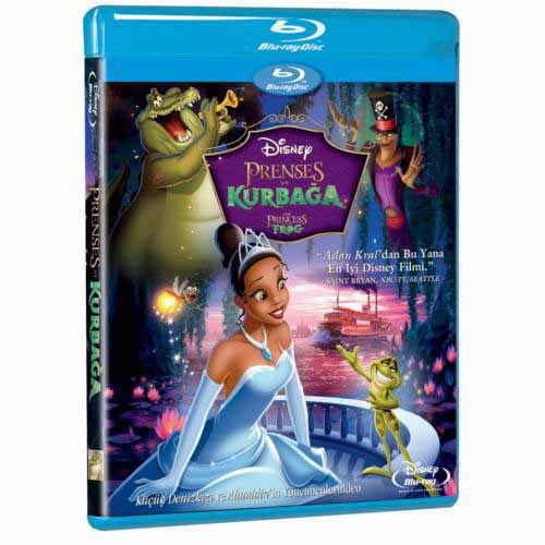 Princess And The Frog (Prenses ve Kurbağa) (Blu-Ray Disc)
