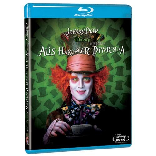 Alice In Wonderland (Alis Harikalar Diyarında) (Blu-Ray Disc) (2010)