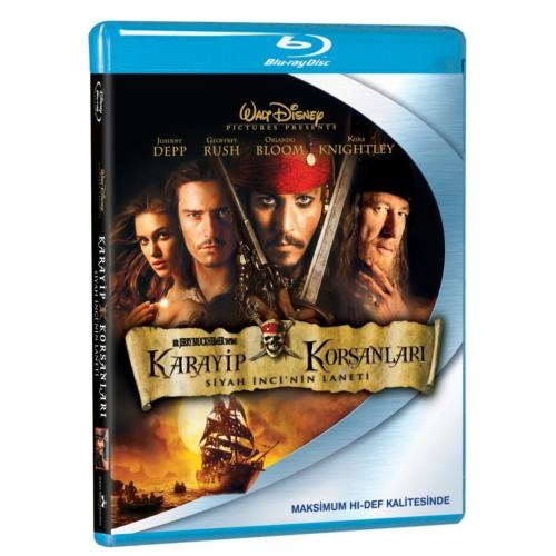 Pirates Of Caribbean: The Curse Of The Black Pearl (Karayip Korsanları: Siyah İnci Nin Laneti) (Blu-Ray Disc)