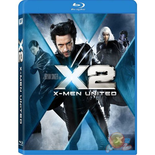 X-Men 2 (Blu-Ray Disc)