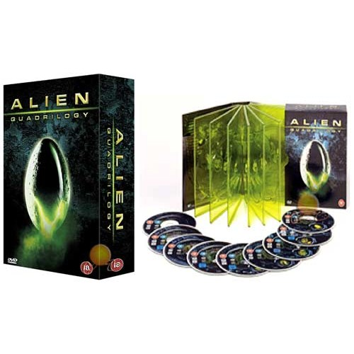 Alien Quadrilogy (9 DVD Özel Set) ( DVD )