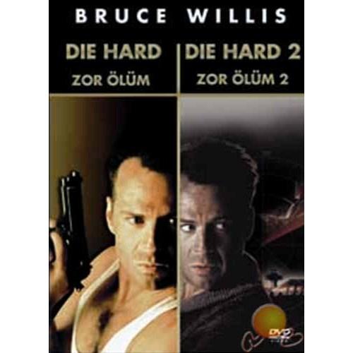Die Hard+Die Hard 2 Box Set (Zor Ölüm+zor Ölüm 2 Özel Set) ( DVD )