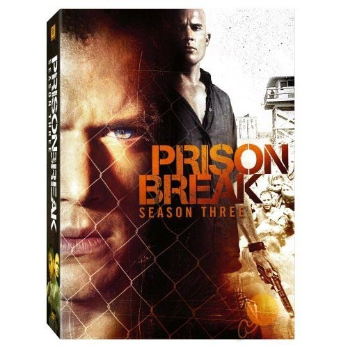 Prison Break Season 3 (4 Disc)
