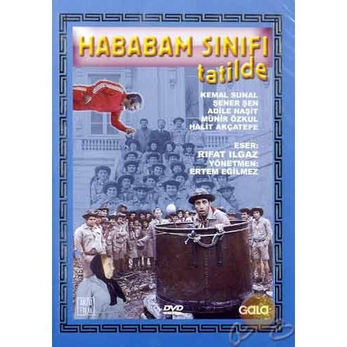 Hababam Sınıfı Tatilde ( DVD )