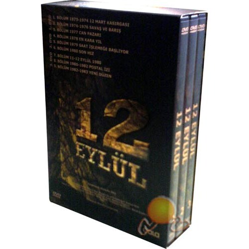 12 Eylül Yakın Tarih Belgeseli (Box Set) (3 DVD)